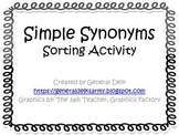Simple Synonyms Sorting
