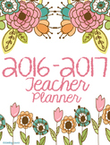 Simple Teacher Planner 2016-2017