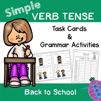 Simple Tense Verbs - Back to School