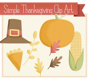 Simple Thanksgiving Clip Art