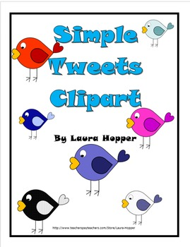Colorful Bird Clip Art