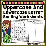 Uppercase Lowercase Letter Sort