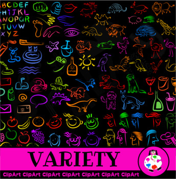 Simple Variety Icon Clip Art - 453 Images - Various Subjects