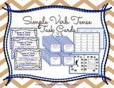 Simple Verb Tense Task Cards L.3.1.e