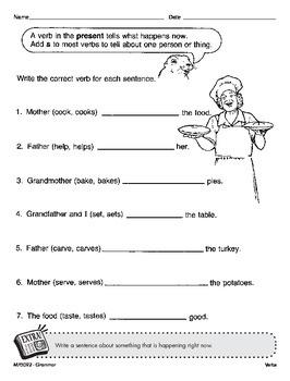 Simple Verb Tenses (CCSS L.3.1e)