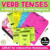 Simple Verb Tenses Present Tense Past Tense Future Tense - No Prep Activity