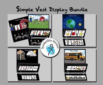 Simple Vest Display Bundle - SymbolStix