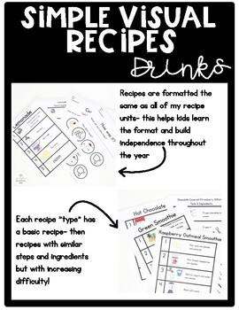 Simply Visual Recipes: Drinks