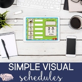 Virtual Visual Schedules and First/Then Boards For Distance Learning-Boom Cards