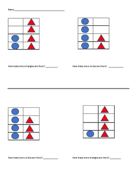 Simple Visual Subtraction by counting the Difference