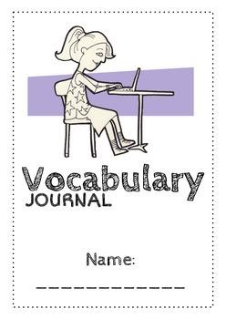 Simple Vocabulary Journal
