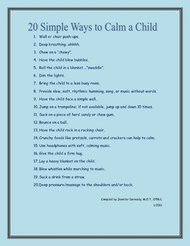 Simple Ways to Calm a Child