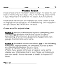 Simple Weather Project with Rubric