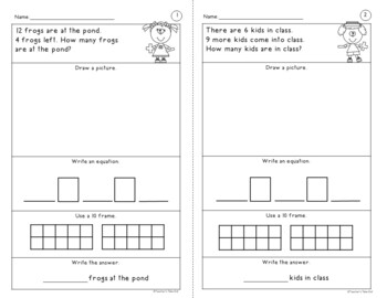 simple word problem worksheets using addition and subtraction facts  simple word problem worksheets using addition and subtraction facts up to