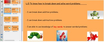Fun Simple Worded problems