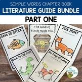 Simple Words Chapter Books Literature Guides Bundle Part 1