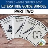 Simple Words Chapter Books Literature Guides Bundle Part 2