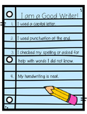 Simple Writing Checklist