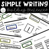 Simple Writing: Building Sentences