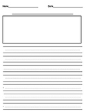 Simple Writing Publishing Paper for Elementary