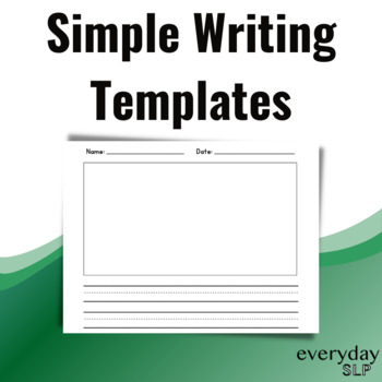 Simple Writing Template