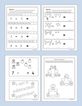 Addition and subtraction activities and worksheets