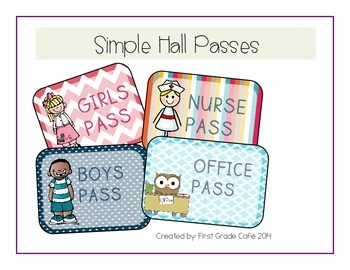 Simple and Basic Hall Passes