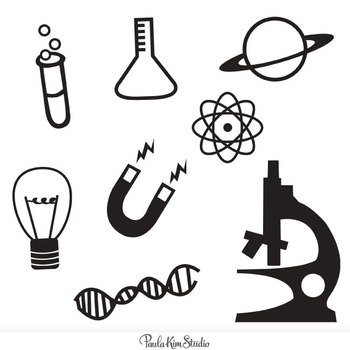 free science clipart by paula kim studio teachers pay teachers rh teacherspayteachers com science equipment clipart free science equipment clipart free