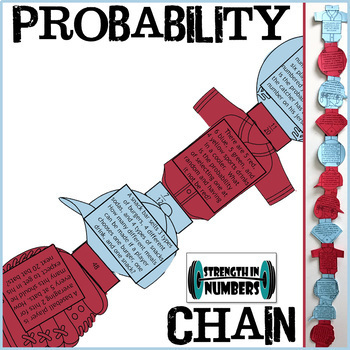 Simple and Compound Probability Baseball Paper Chain for Display