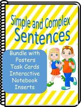 Simple and Complex Sentence Bundle- Literacy Center Worksh