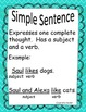 Simple and Complex Sentence Bundle