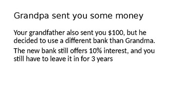 Simple and Compound Interest Demonstration