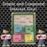 Simple and Compound Interest Dice