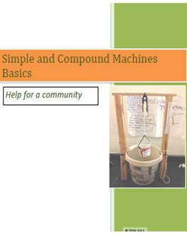 Simple and Compound Machines Basics: Help for a community