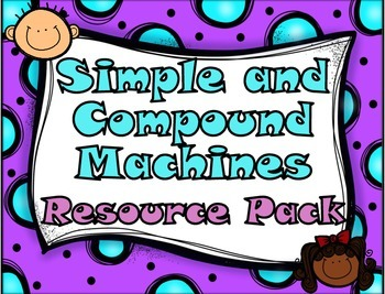 Simple and Compound Machines Resource Pack