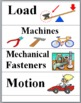 Simple Machines Illustrated Science Word Wall