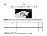 Simple and Compound Sentence Activity