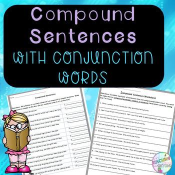 No-Prep Simple and Compound Sentences