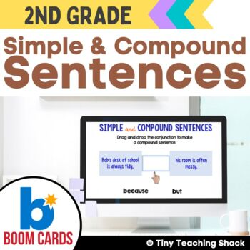 Simple and Compound Sentences Boom Cards