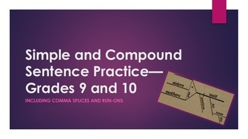 Simple and Compound Sentences, Comma Splices, and Run-ons—Grades 9 and 10