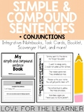 Simple and Compound Sentences + Conjunctions