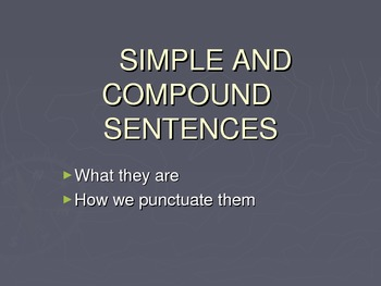 Simple and Compound Sentences: ESL Grammar and Writing