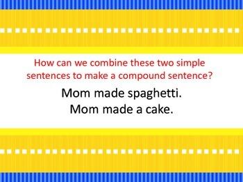 Simple and Compound Sentences Mini-Unit