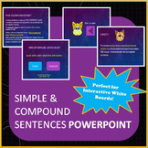Simple and Compound Sentences - PowerPoint
