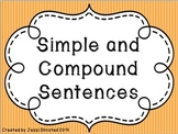 Simple and Compound Sentences Presentation