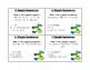 Simple and Compound Sentences Task Cards A Fine, Fine School