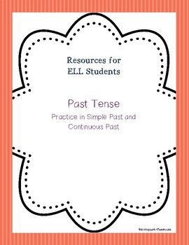 Simple and Continuous Past Tense Activities