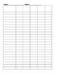 Simple and Editable Class check list table