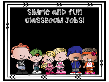 Simple and Fun Classroom Jobs!