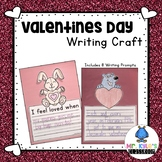 Simple and Fun Valentines Day Writing Craft!  Color, Write